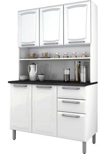 Cozinha Compacta Regina – Itatiaia - Branco Neve