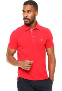 Camisa Polo Sergio K Slim Vermelha