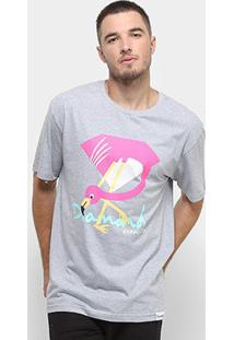Camiseta Diamond Flamingo Sign Masculina - Masculino