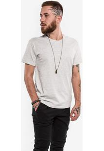 Camiseta Confort Mescla Claro 0199