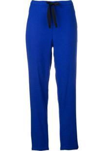 Bellerose Calça Cenoura Com Cordão De Ajuste - Azul