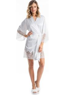 Robe Noiva C/ Renda Branco/P