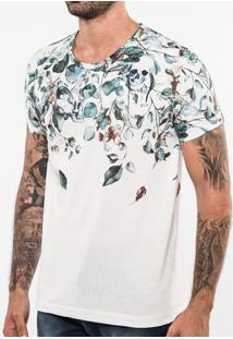 Camiseta Falling Skull Branca 103458