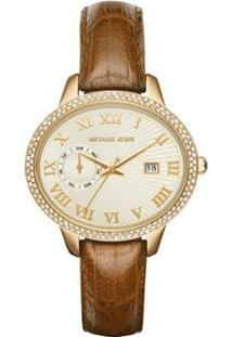 Relógio Michael Kors Feminino - Mk2428/4Dn Mk2428/4Dn - Feminino-Dourado