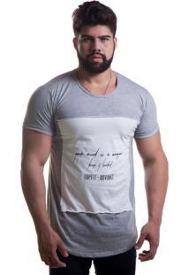 Camiseta Advance Casual Cinza