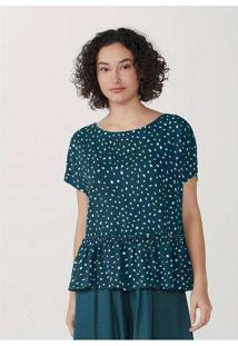 Blusa Feminina Estampada Em Tecido Texturizado Min