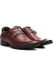 Sapato Social Couro Rafarillo Las Vegas - Masculino-Marrom