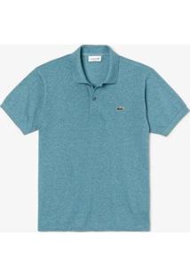Camisa Polo Lacoste L.12.12 Original Fit Masculina - Masculino-Verde