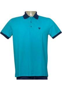 Camisa Masc Cavalera Clothing 03.01.3881 Azul/Marinho