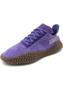 Tênis Couro Adidas Originals Kamanda 01 Lilás