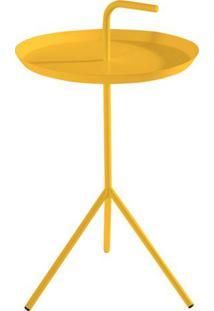 Mesa Apoio Handle Amarelo Aco 41 Cm (Larg) - 41577 - Sun House