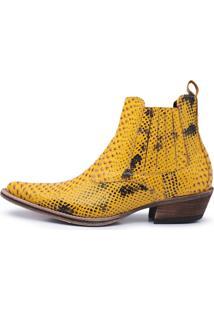 Bota Ravena Bota Amarelo
