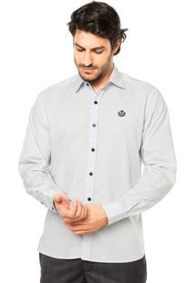 Camisa Forum Slim Cinza