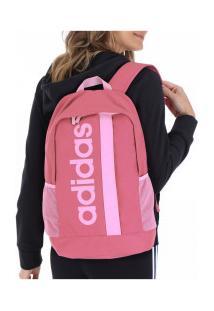 Mochila Adidas Linear Core - Rosa Claro