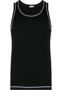 Dolce & Gabbana Regata Com Detalhe De Costura - Preto