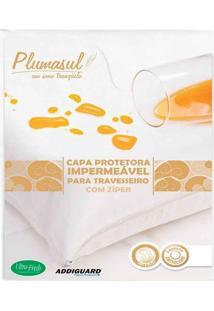 Capa Protetora Impermeável 233 Fios Para Travesseiro 1 Peça - 50X90 - 100% Algodão - Plumasul
