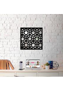 Escultura De Parede Wevans Illusion + Espelho Decorativo -