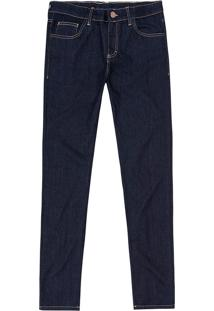 Calça Jeans Slim Cintura Média Malwee