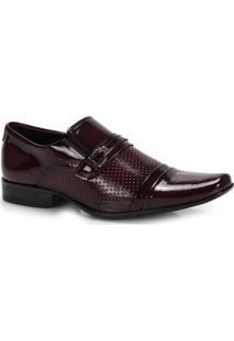 Sapato Social Masculino Urbano- Vinho