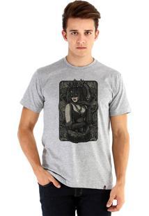 Camiseta Ouroboros Queen Cinza