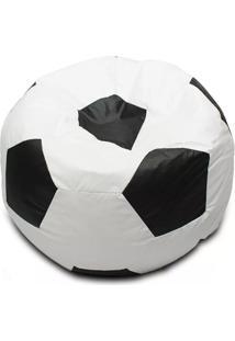Pufe Bola De Futebol - Puff - Branco - Menino - Dafiti