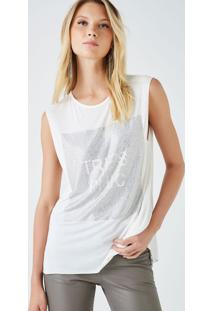 Regata Três Chic Cristal Off White - P