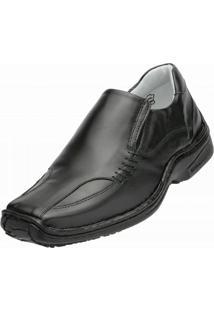 Sapato Social Alcalay Relax Conforto Preto