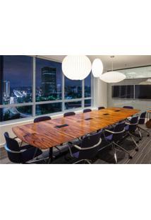 Mesa De Jantar Segmentada 3 Colunas Alumínio Polido E Aço Pintura Preta Studio Mais Design By Charles E Ray Eames