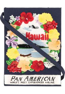Olympia Le-Tan Clutch 'Hawaii' - Azul