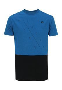 Camiseta Hang Loose Roof - Masculina - Azul/Preto