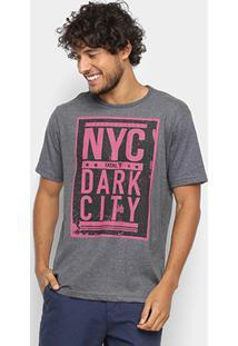 Camiseta Fatal Nyc Dark City Masculina - Masculino