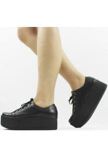 Tênis Damannu Shoes Jessie Feminino - Feminino-Preto