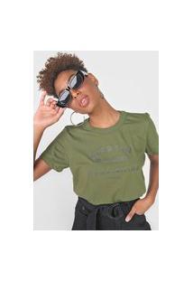 Camiseta Colcci Acertar Verde