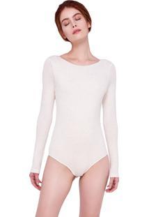 Body Arys Swimwear Manga Longa Off White