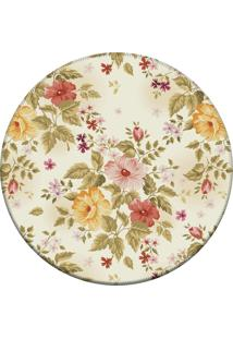 Tapete Love Decor Redondo Wevans Flowers 84X84