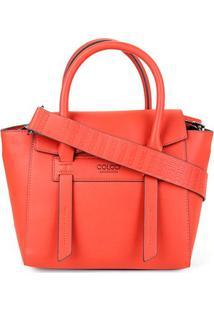 Bolsa Colcci Handbag Lisa Alca Larga Feminina - Feminino-Vermelho