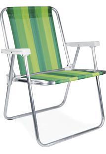 Cadeira Alta Alumínio 2222