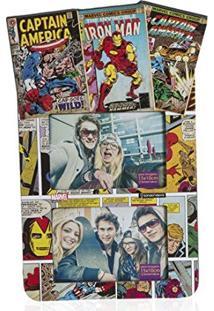 Painel Marvel Comics P/ 4 Fotos 10X15Cm