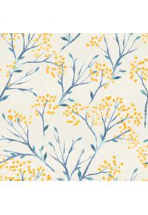 Papel De Parede Stickdecor Adesivo Floral 047 3Mt A 1,00Mt L