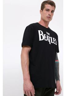 Camiseta Comfort Com Estampa The Beatles