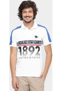 Camisa Polo Rg 518 Piquet 1892 Sport - Masculino