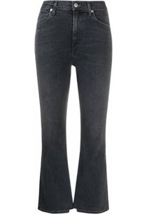 Citizens Of Humanity Calça Jeans Cropped Demy - Cinza