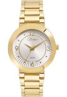 Relógio Condor Feminino Bracelete - Co2035Kvq/K4B Co2035Kvq/K4B - Feminino-Dourado