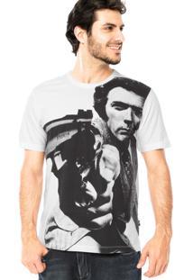Camiseta Manga Curta Cavalera Mira Branca