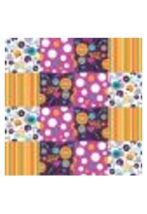 Papel De Parede Autocolante Rolo 0,58 X 3M - Azulejo Disco 286448861