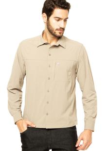 Camisa Curtlo Commuter Bege