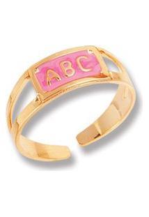 Anel Le Diamond Abc Rosa