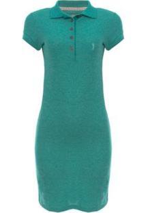 Vestido Piquet Molinet Shine Aleatory - Feminino