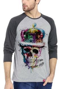 Camiseta Wevans Caveira Colors - Masculino