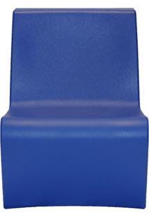 Poltrona Berta Em Polietileno Azul Escuro Tramontina